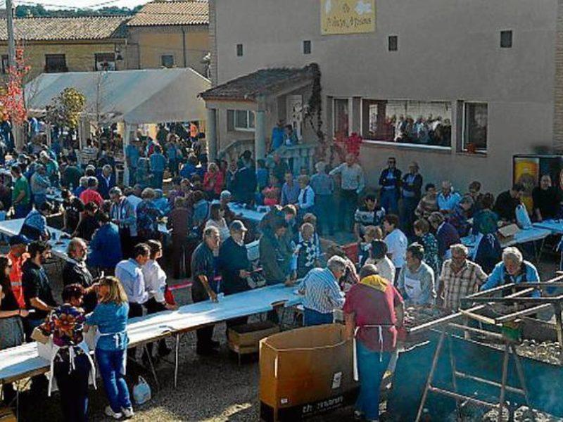 Fiesta de la chireta en Pozán del Vero