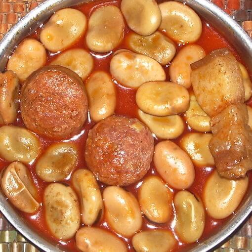 Michirones de Murcia
