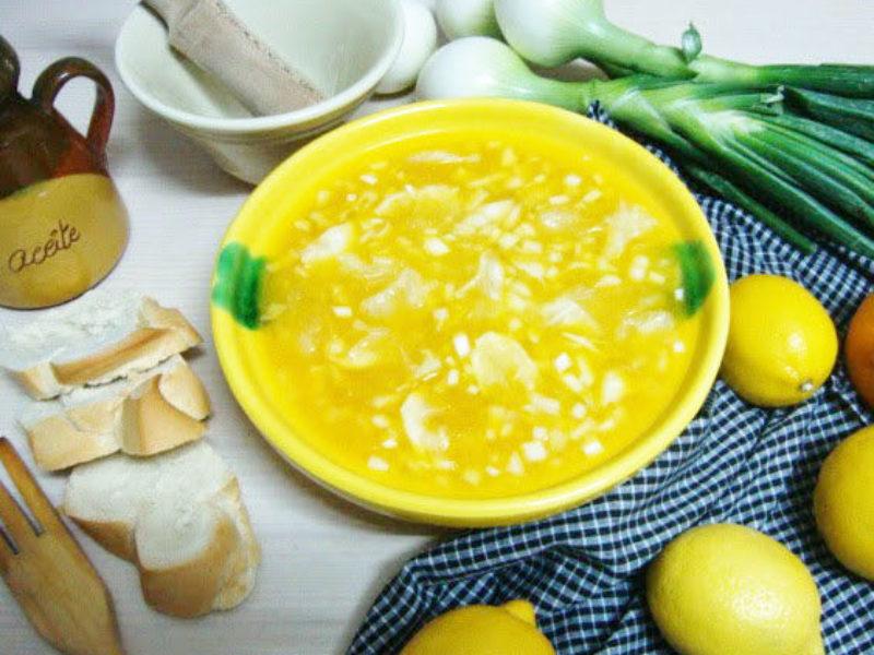Ensalada de limón de Villanueva de los Infantes
