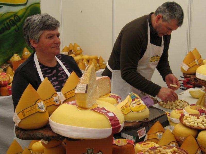 Fiesta del queso de San Simón da Costa en Vilalba