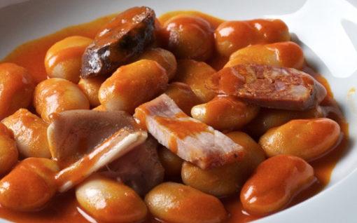 Judión de La Granja comida típica de Segovia