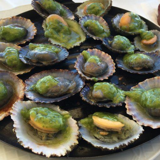 Lapas comida típica de Lanzarote