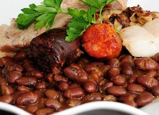 Alubias de Tolosa plato típico de Guipúzcoa