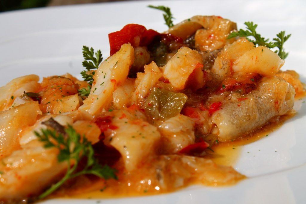 Bacalao al ajoarriero comida típica de Navarra