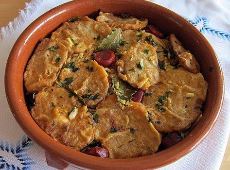 Patatas a la importancia comida típica de Palencia