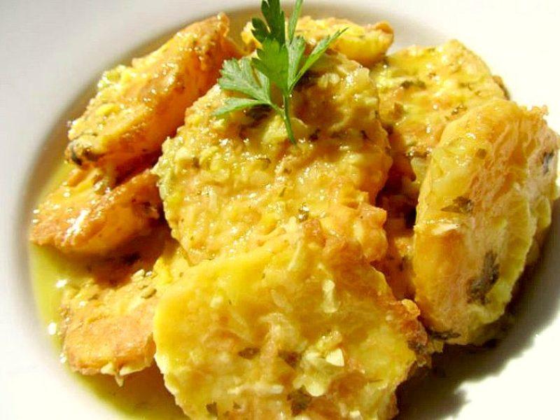 Patatas a la importancia gastronomía de Palencia