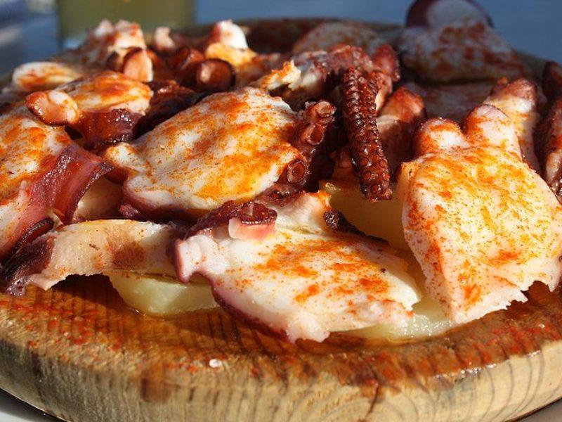 Pulpo a la gallega qué comer en Ourense