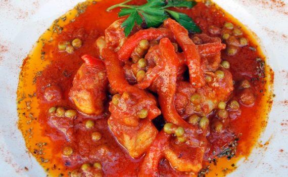 Rape a la rusadir plato típico de Melilla