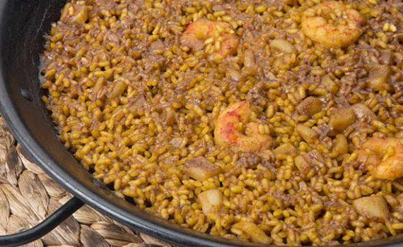 Arroz a banda comida típica de Alicante