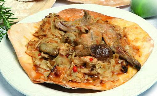 Gazpacho manchego gastronomía típica de Albacete