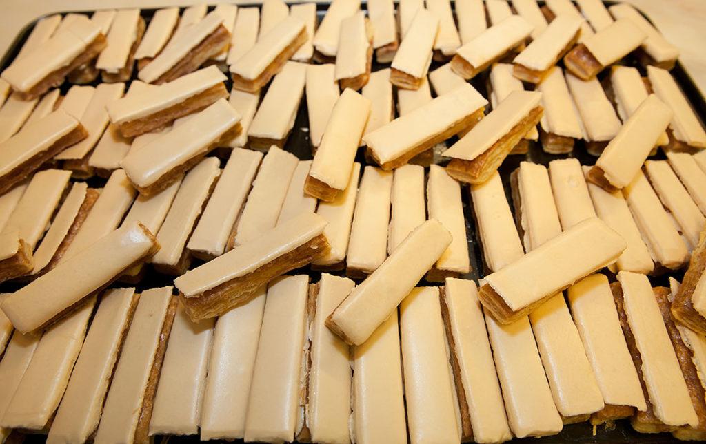 Polkas de Torrelavega dulce típico de Cantabria