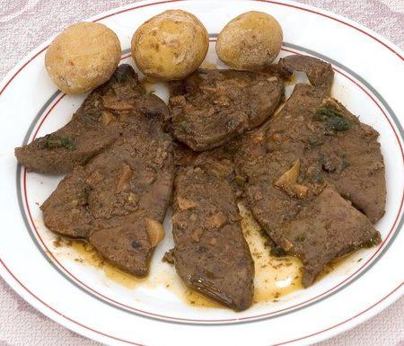 Carajacas plato típico de la gastronomía canaria